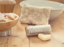 soap and brushes